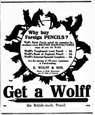 Wolff - get a wolff - Daily tel - 25.05.1911