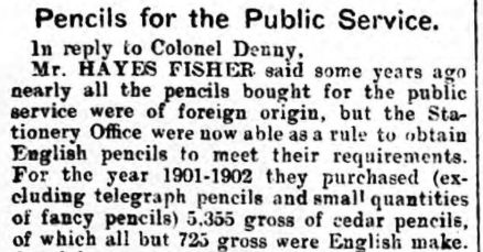 pencils - northern whig - 6.11.1902