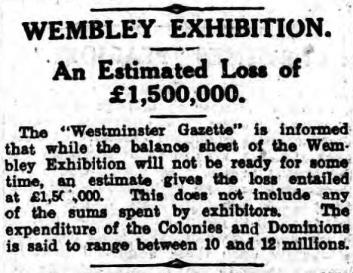 wemblet - loss - 29.11.1924