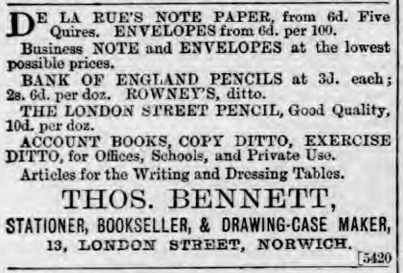 Norfolk News - Saturday 24 April 1869